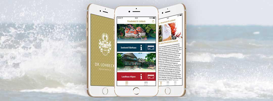 Die neue App der Privathotels Dr. Lohbeck