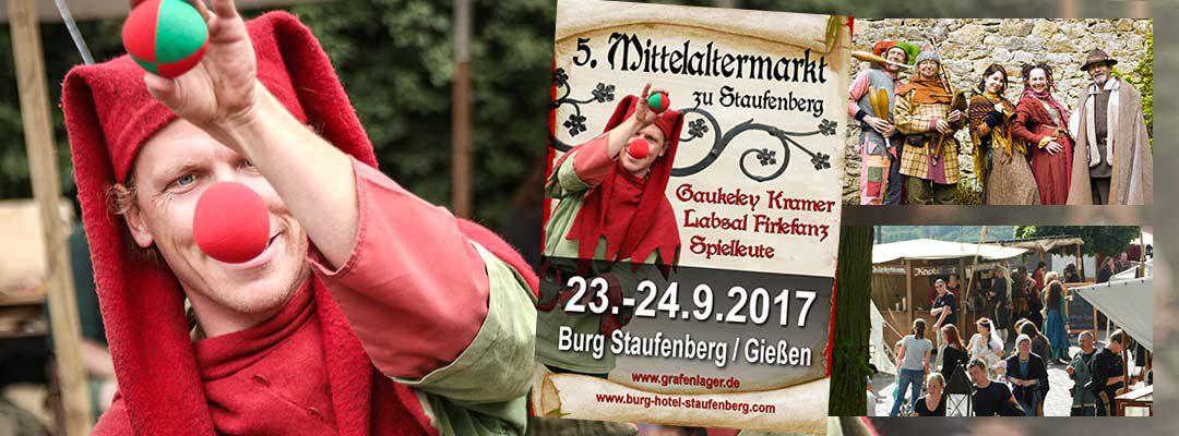 Mittelalter-Markt auf Burg Staufenberg