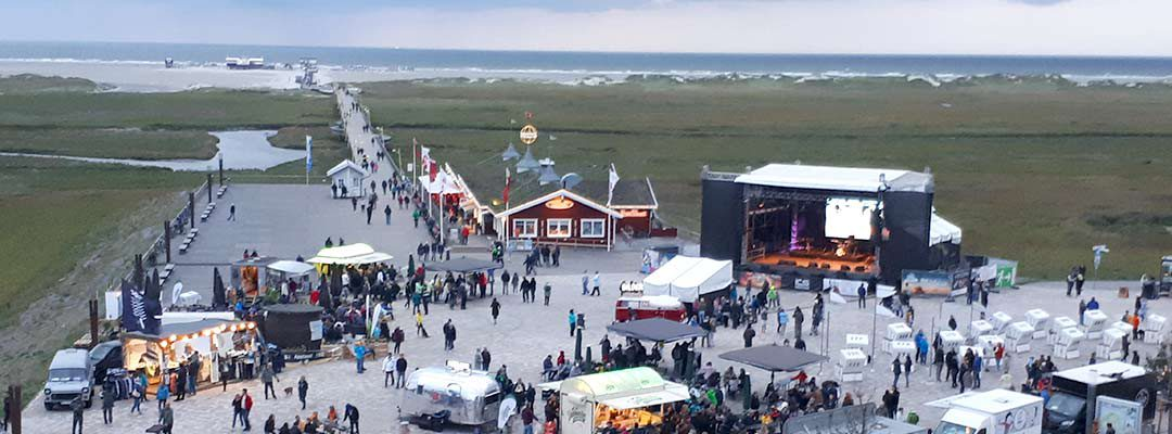 """Soul Kitchen"" am Strand von St. Peter-Ording"