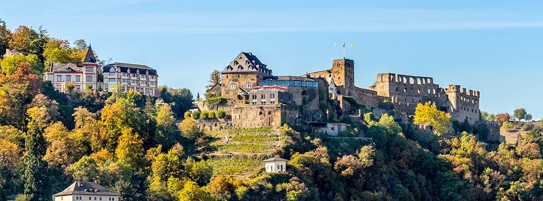 Privathotels Dr. Lohbeck übernehmen Romantik Hotel Schloss Rheinfels